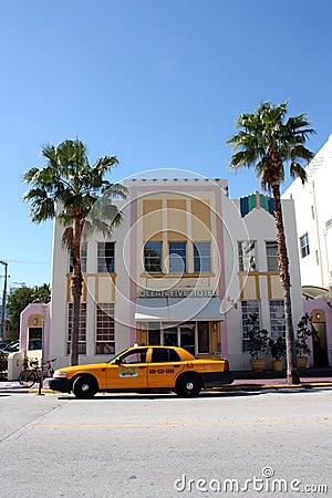 South Beach Miami Hotel Editorial Photo