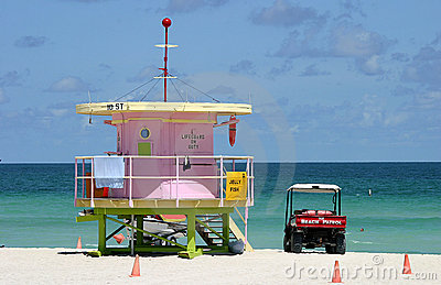 south Beach patrol