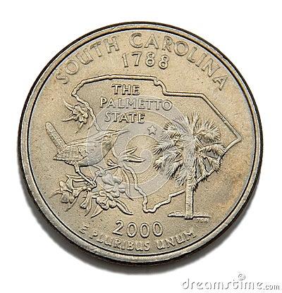 South Carolina quarter dollar