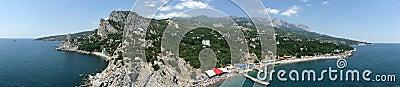 South coast of Crimea. Ukraina