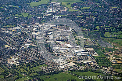 South Croydon, Aerial View