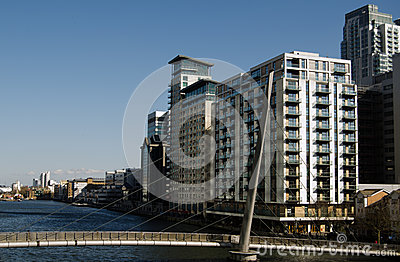 South Dock, London Docklands