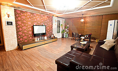 South Korea style living room