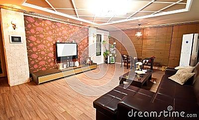 South Korea style living room