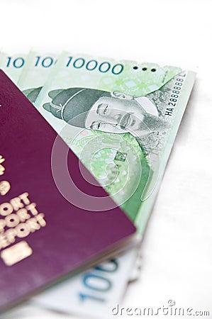 South Korea travel concept