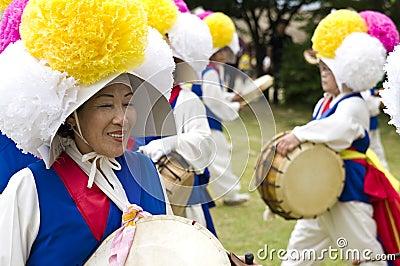 Editorial Photo: South Korean folklore