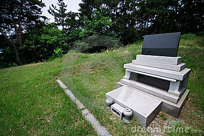 South Korean grave
