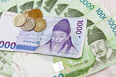 South Korean money