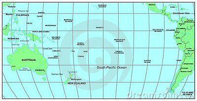 South Pacific Ocean