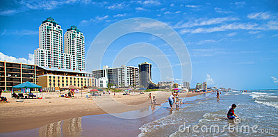 South Padre Island Editorial Image