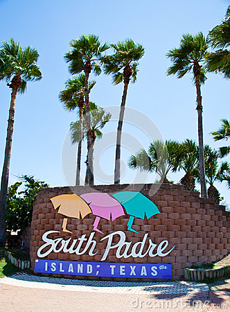 South Padre Island Editorial Photo