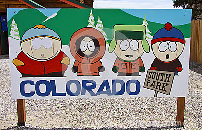 South Park characters Editorial Stock Image