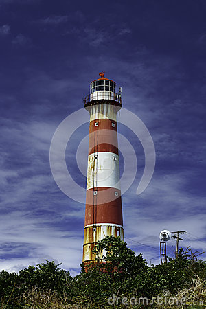 Free South Point - One Of The Four Lighthouses In Barbados Stock Photography - 51761242