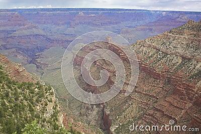 South Rim Grand Canyon Landscape