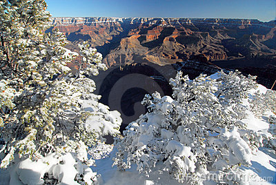 South Rim in Winter