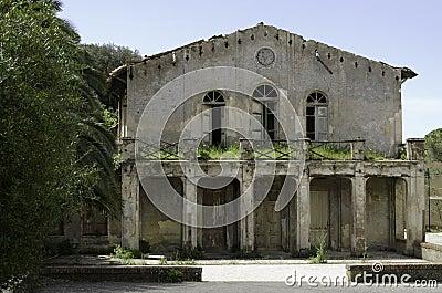 South Sardinia old mining building