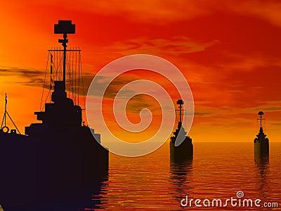 South Seas during world war 2