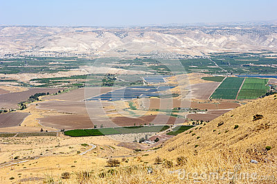South shore of Lake Kinneret