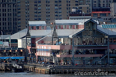 South Street Seaport, New York City Editorial Image