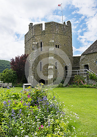 The South Tower at Stokesay Castle