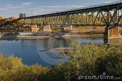 South Train Bridge in Saskatoon