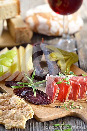 Free South Tyrolean Snack Royalty Free Stock Photography - 59255747