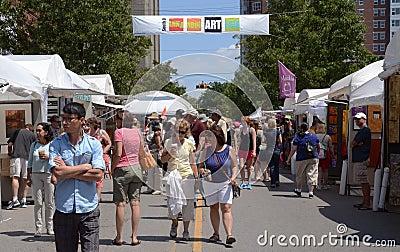 South University Art Fair Editorial Stock Photo