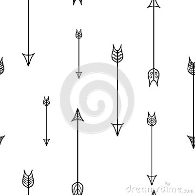 Free South Western Arrows Seamless Pattern Stock Photography - 56228692