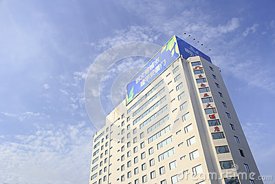 Southeast asia hotel from low angle view Editorial Photography