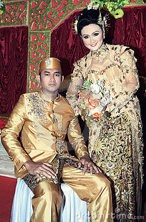 Southeast asia wedding