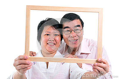 Southeast Asian couple