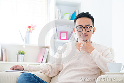 Southeast Asian male lifestyle