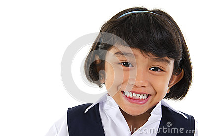 Southeast Asian primary school student