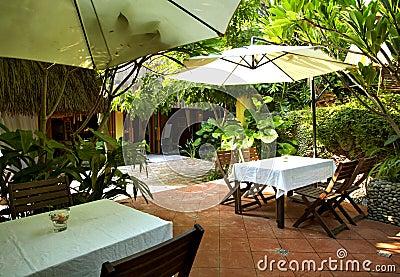 Southeast Asian-style restaurant