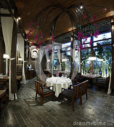 Southeast Asian-style restaurant