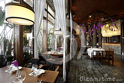 Southeast Asian style restaurants