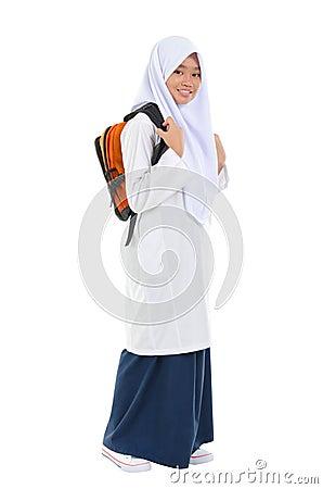 Southeast Asian teen