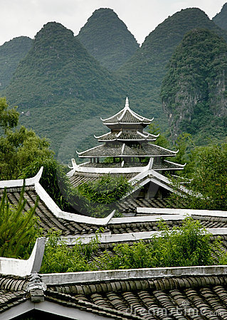 Southern China Pagoda