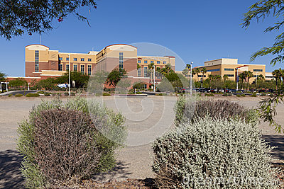 Southern Hills Hospital in Las Vegas, NV on June 14, 2013 Editorial Stock Image