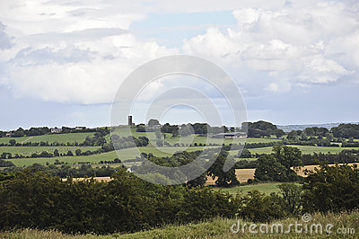 Southern Ireland Landscape