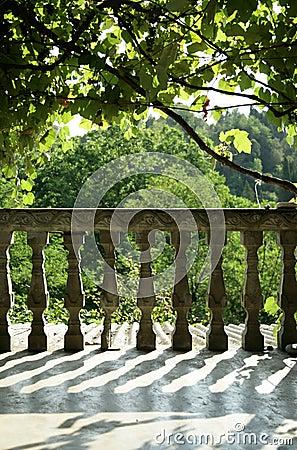 Southern terrace