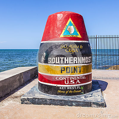 Free Southernmost Point In Key West,  Florida, USA Stock Photos - 35435333