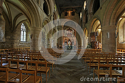 Southwell Minster Nave