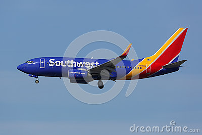 Southwest Airlines Boeing 737 700 Airplane Los Angeles