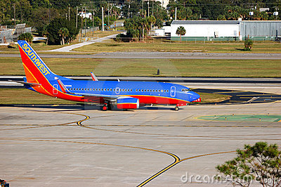 Southwest Airways Jet Editorial Photo