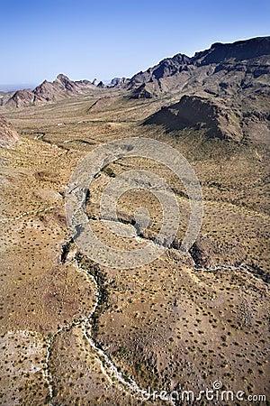 Southwest landscape.