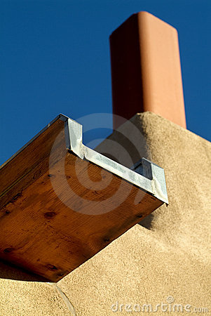 Free Southwestern Style Canale (Gutter) Drainage Royalty Free Stock Photography - 8118437