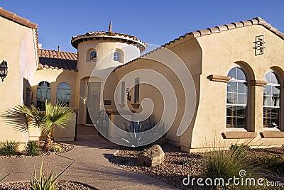Southwestern Style Modern Home