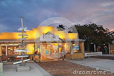 Souvenier shop in Key West Florida Editorial Stock Photo