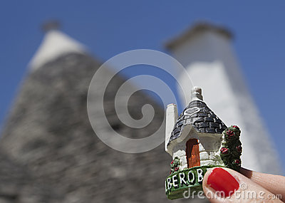 Souvenir of alberobello